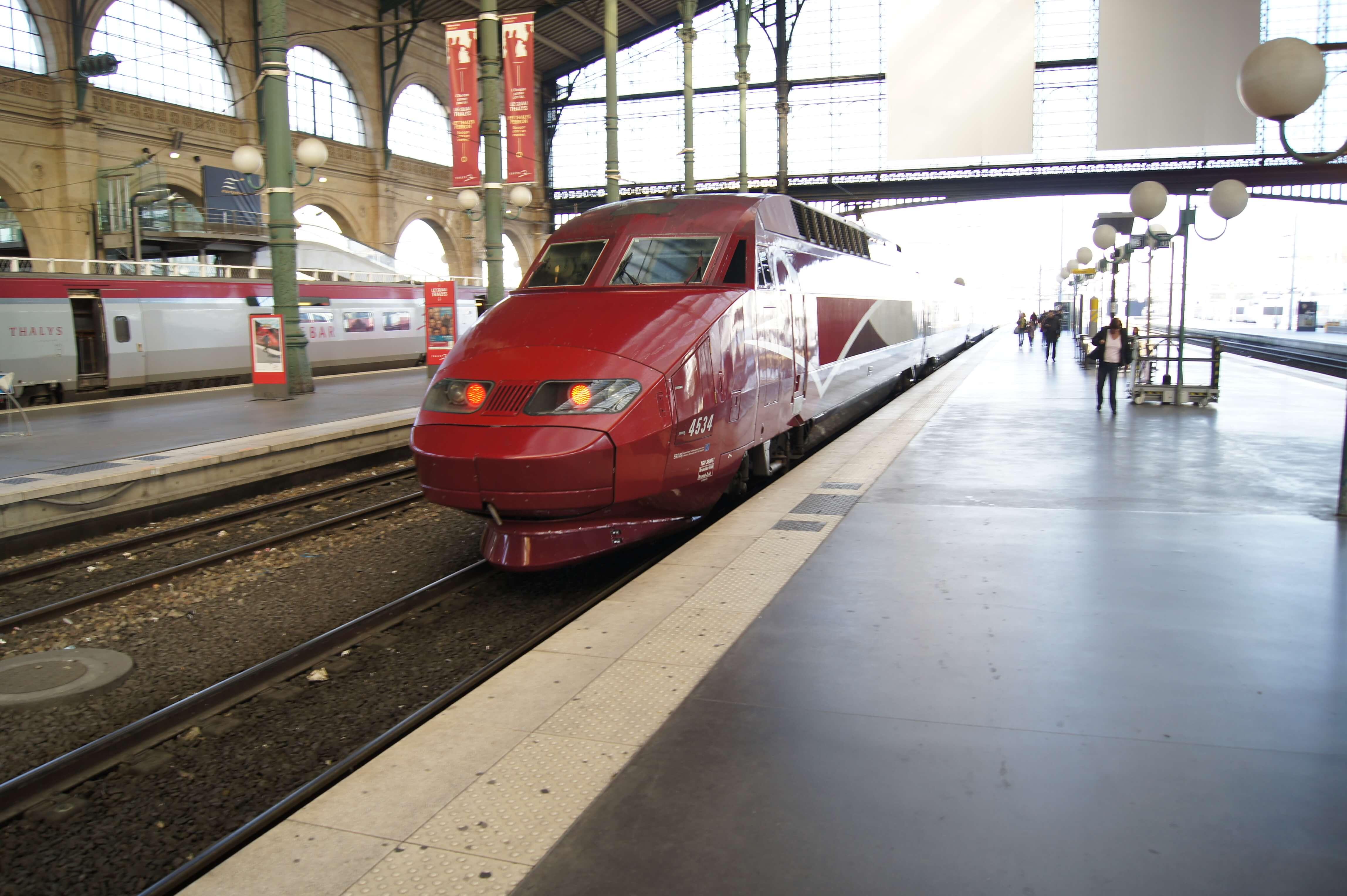 Thalys Gare du Nord