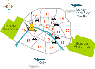 parijs arrondissementen