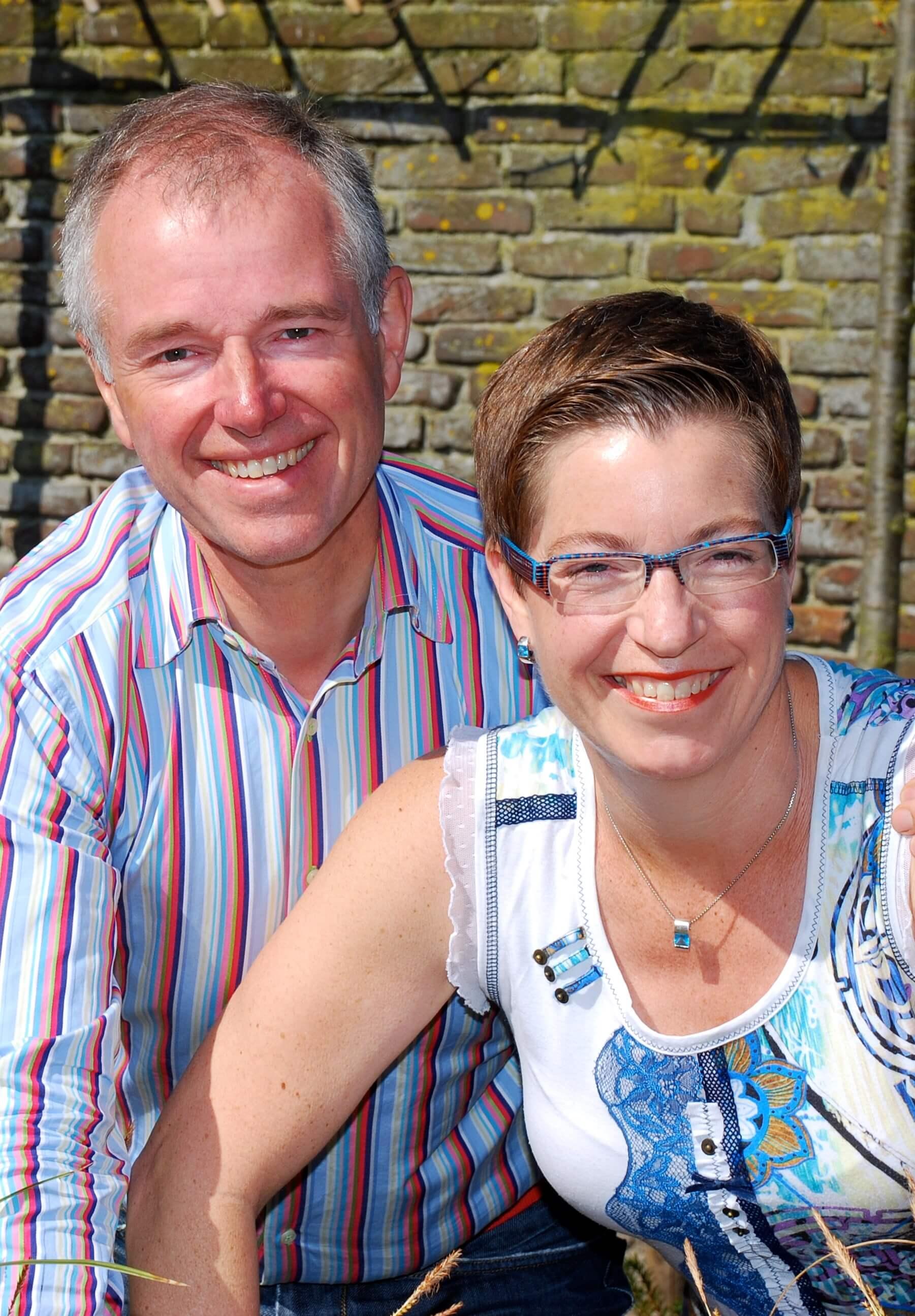 Annemiek Wortel en Frank van Zelst